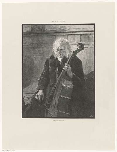 De oude cellist