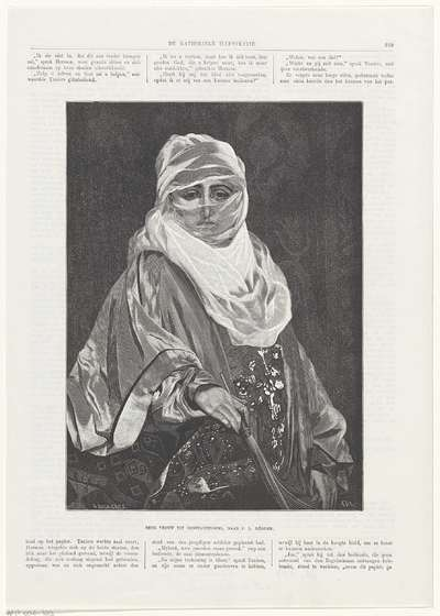 Eene vrouw uit Constantinopel