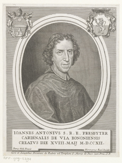 Portret van kardinaal Gianantonio Davia