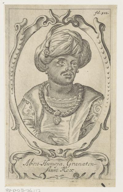 Portret van Aben Humeya, koning van Granada