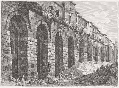 De Tempel van Hercules Victor te Tivoli