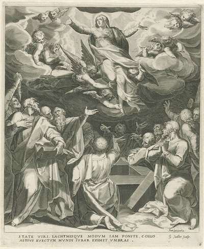 Image from object titled Hemelvaart van Maria | Leven van Maria