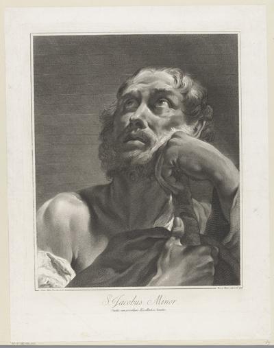 Apostel Jakobus de Mindere; S. Jacobus Minor; Apostelen