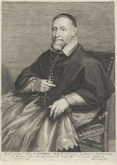 Portret van bisschop Antonius Triest