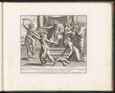 Oordeel van Salomo; Schilderingen in de Loggia van Rafaël; Imagines Veteris ac Novi Testamenti; Rafaël Bijbel