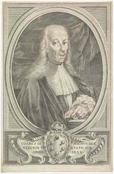 Portret van Cosimo III de' Medici, hertog van Parma