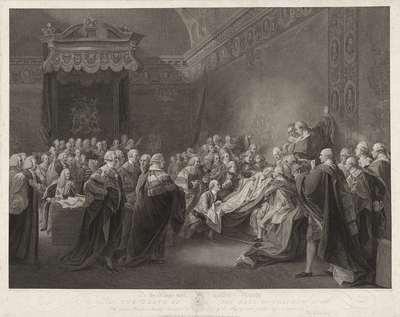 Dood van de Graaf van Chatham; The Death of the Earl of Chatham