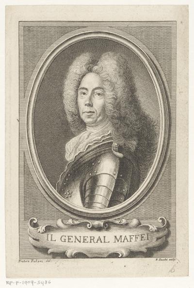 Portret van markies Alessandro Maffei