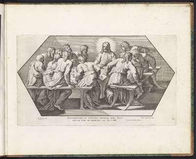 Laatste Avondmaal; Schilderingen in de Loggia van Rafaël; Imagines Veteris ac Novi Testamenti; Rafaël Bijbel