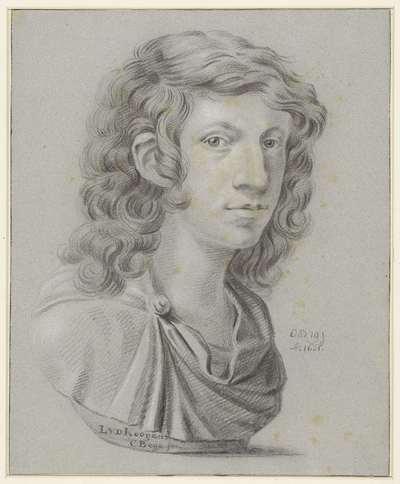 Portret van Leendert van der Cooghen