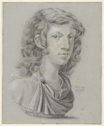 Image from object titled Portret van Leendert van der Cooghen