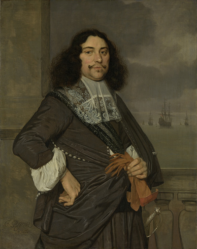 Image from object titled Jan van Nes (1631-80), Vice admiral of Holland and West-Friesland