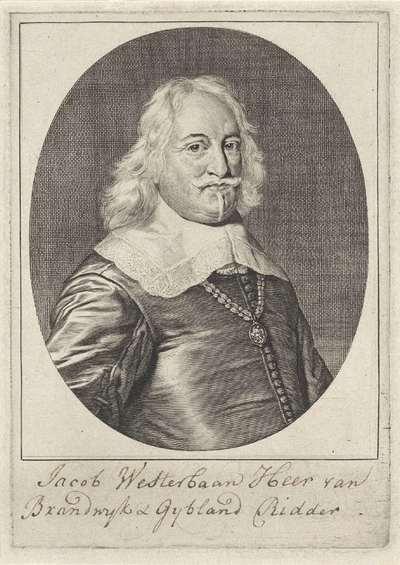 Portret van Jacob Westerbaen
