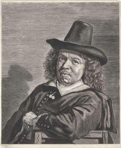 Portret van Frans Jansz. Post