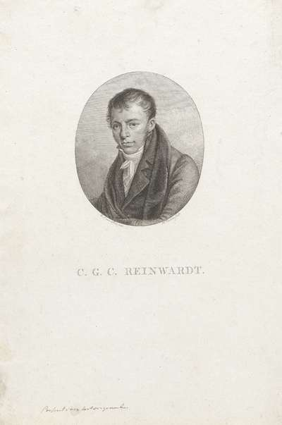 Portret van Caspar Georg Carl Reinwardt