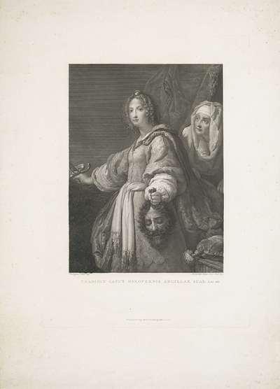 Judit met het hoofd van Holofernes