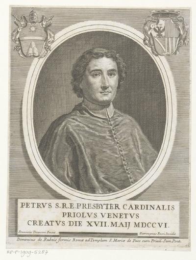 Portret van kardinaal Pietro Priuli