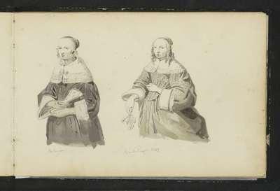 Twee vrouwenportretten