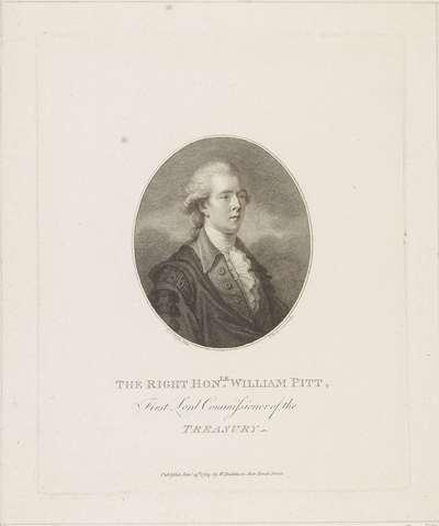 Portret van William Pitt