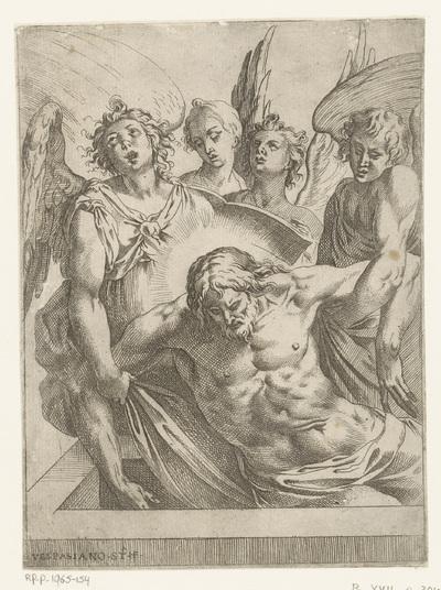 Engelen met het lichaam van Christus