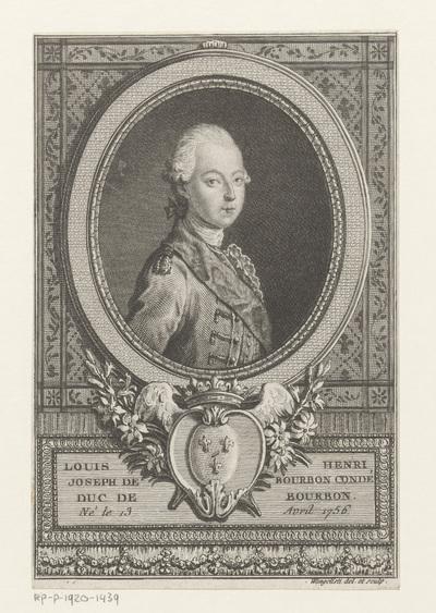 Portret van Lodewijk VI van Bourbon-Condé