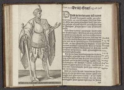 Graaf Dirk III van Holland; Affkomst ende korte historie der graven van Hollandt Zeelandt ende Vrieslandt; Graven en gravinnen van Holland