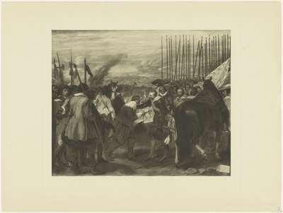 De overgave van Breda, naar Velázquez