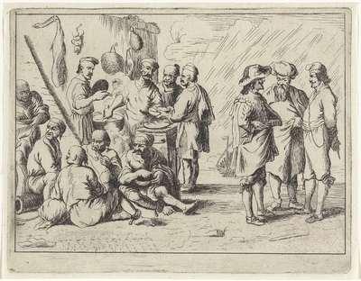 Slaven bij de havenkok; Haventaferelen