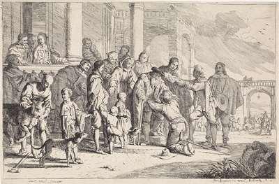Image from object titled Thuiskomst van de verloren zoon; Gelijkenis van de verloren zoon