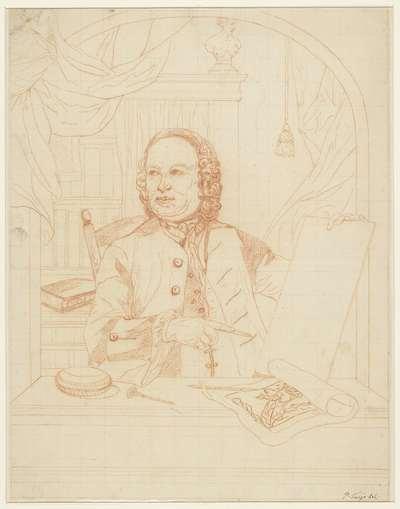 Zelfportret van Pieter Tanjé