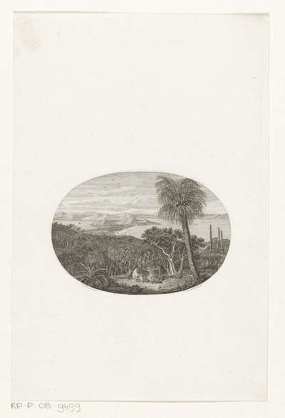 Gezicht op zee-inham bij King Georges Island; Gezigt van King Georges Sound; Titelpagina voor: Matthew Flinders, Ontdekkings-reis naar het Groote Zuidland anders Nieuw Holland, 1815