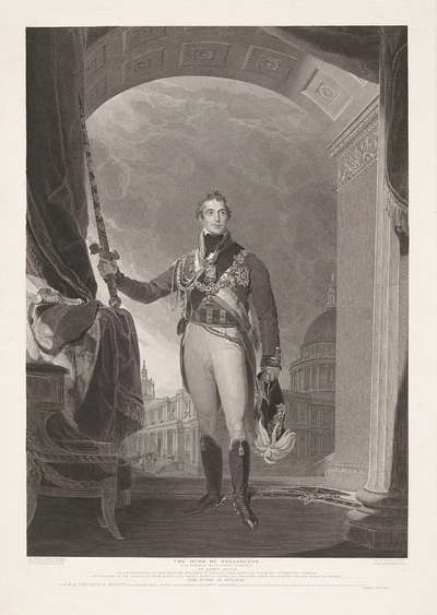 Image from object titled Portret van The Duke of Wellington