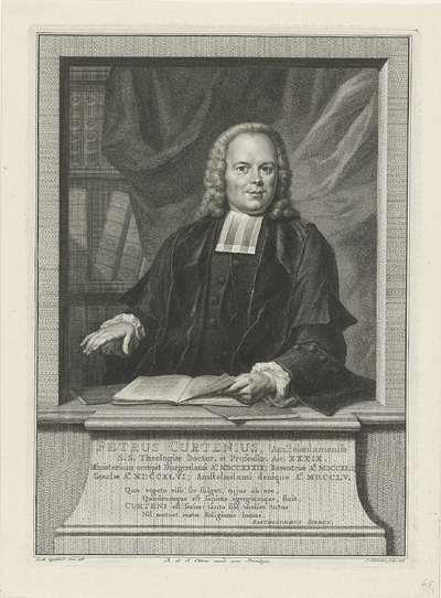 Portret van Petrus Curtenius; Petrus Curtenius