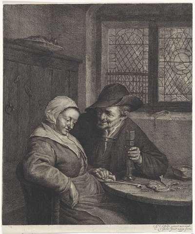 Oud paar; Het Zoute Scholletje