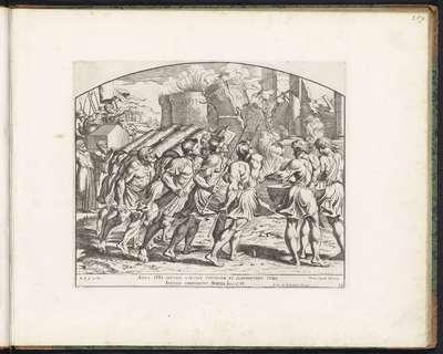 Val van Jericho; Schilderingen in de Loggia van Rafaël; Imagines Veteris ac Novi Testamenti; Rafaël Bijbel