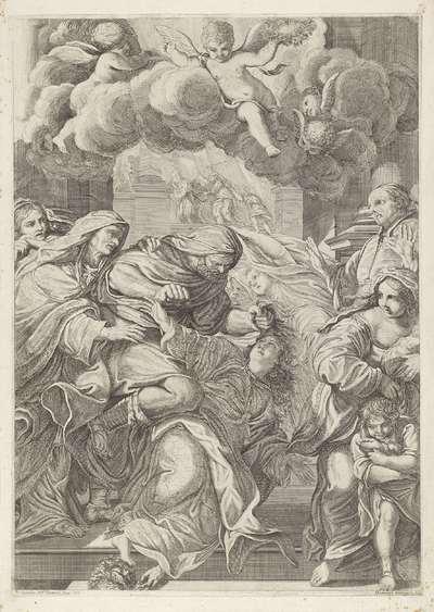 Heilige Christina gevangengenomen