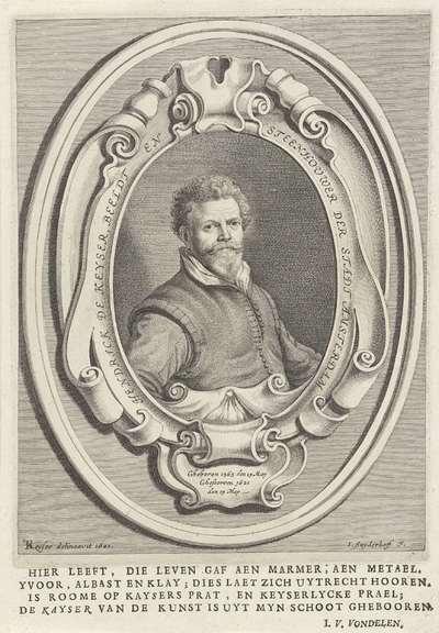 Portret van Hendrik de Keyser