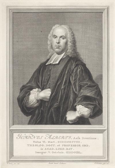 Portret van Johannes Alberti