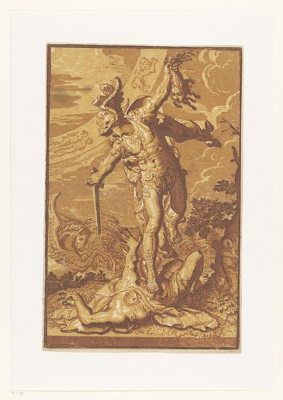 Perseus met het hoofd van Medusa