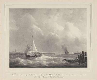 Zeilschepen in een haven