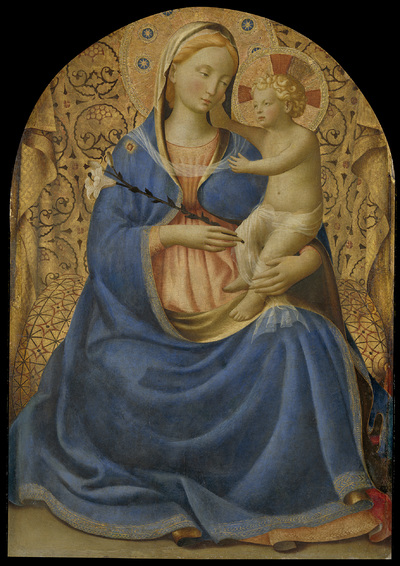 Image from object titled Madonna of Humility
