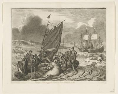 De tocht naar Nova Zembla in 1596
