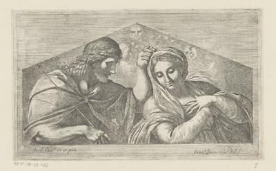 Christus kroont de Maagd Maria