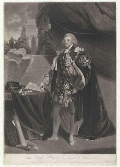 Portret van de hertog van Clarence