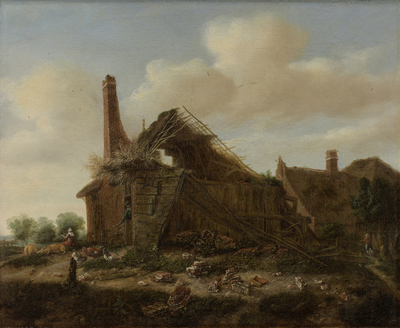 Image from object titled Farmhouse in ruins