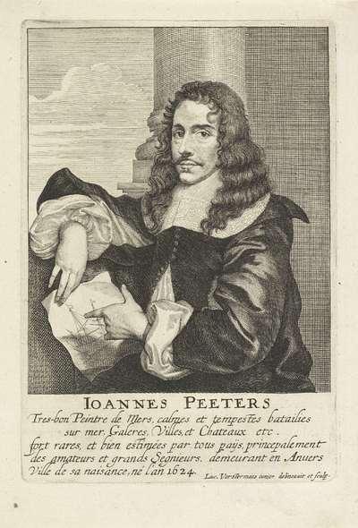 Portret van Jan Peeters (I)