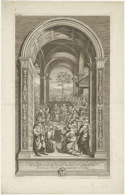 Paus Pius II houdt een concilie te Mantua; Het leven van Paus Pius II