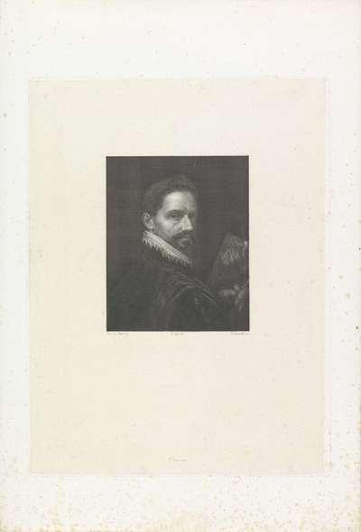 Portret van schilder Leandro Bassano