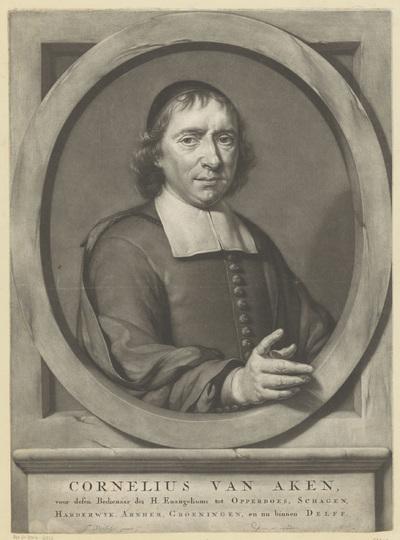 Portret van Cornelius van Aken