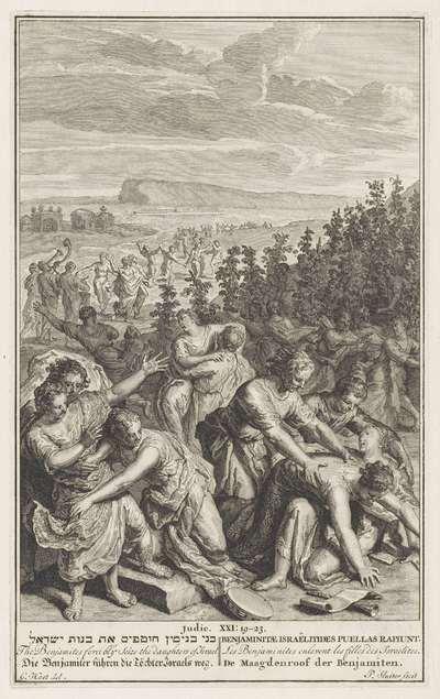 Maagdenroof der Benjamieten